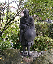 Foto de l'autor. wikimedia commons - Dready - A Picture of a Statue of Ryokan from Niigata Japan