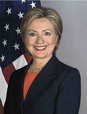 Författarporträtt. Official portrait of Sec. of State Hillary Clinton, Jan. 2009