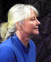 Fotografia de autor. Photo of Clare Bell by  husband Chuck Piper,2006
