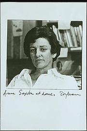 Foto do autor. Portrait of Anne Sexton by Elsa Dorfman