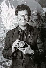 Fotografia de autor. Paul Chesley in 2002 [credit: Paul Chesley]