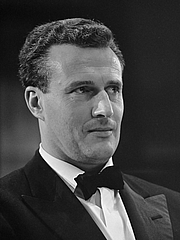 Author photo. Colin Davis, October 1967. Photo by Ron Kroon.