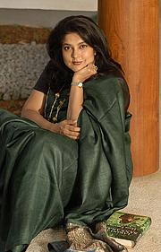 Författarporträtt. Lavanya Sankaran