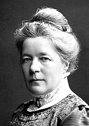 Kirjailijan kuva. Selma Lagerlöf - photo edited by Pieter Kuiper
