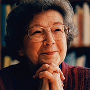 "Author photo. Beverly Cleary <a href=""https://www.beverlycleary.com/"" rel=""nofollow"" target=""_top"">https://www.beverlycleary.com/</a>"