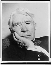 Foto de l'autor. Carl Sandburg (1878-1967)<br>