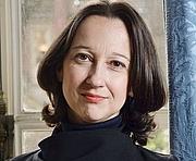 Foto do autor. Muriel Barbery en 2015