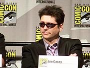 Författarporträtt. Marvel: Dark Reign panel, San Diego Comic-Con International 2009, photo by Loren Javier