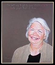 "Författarporträtt. Portrait by Robert Shetterly, <a href=""http://www.americanswhotellthetruth.org"">AmericansWhoTellTheTruth.org</a>"