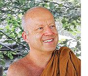 "Fotografia de autor. The Venerable Thanissaro Bhikkhu. Photo from <a href=""http://forestmeditation.com"" rel=""nofollow"" target=""_top""><i>Forest Meditation</i></a>."