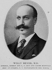 Forfatter foto. Dr. Willy Meyer (1858-1932). Image from <b><i>Notable New Yorkers of 1896-1899 : a companion volume to King's handbook of New York City</i></b> (1899) by Moses King