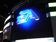 Foto de l'autor. EA booth from E3 2005, photo by Lampbane