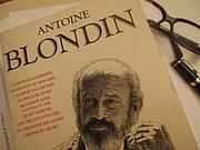 Författarporträtt. Antoine Blondin - French Writer - Member of the Hussard literary group