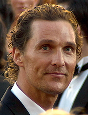Kirjailijan kuva. Actor Matthew McConaughey at the 83rd Academy Awards. Photo credit: Flickr user David Torcivia / viatorci