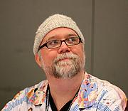 Fotografia dell'autore. At Aussiecon IV