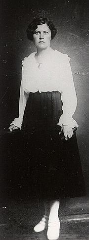 Författarporträtt. Marta Sillaots telegraafi amatnikuna, 1920