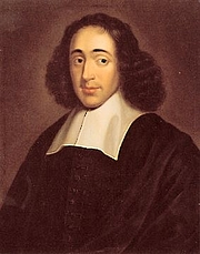 "Foto do autor. From <a href=""http://en.wikipedia.org/wiki/Image:Spinoza.jpg"">Wikipedia</a>"