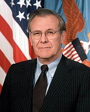 Foto do autor. Official photograph as Secretary of Defense