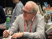 """Author photo. Tracy Letts at BookExpo at the Javits Center in New York City, May 2019. By Rhododendrites - Own work, CC BY-SA 4.0, <a href=""""https://commons.wikimedia.org/w/index.php?curid=79387622"""" rel=""""nofollow"""" target=""""_top"""">https://commons.wikimedia.org/w/index.php?curid=79387622</a>"""