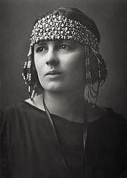 Forfatter foto. Rebecca West, 1923