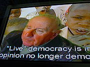 """Forfatter foto. Photo by GASTEV - """"Live"""" democracy is in my opinion no longer democracy."""