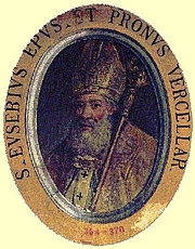 Foto do autor. Saint Eusebius of Vercelli