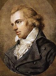 "Foto do autor. From <a href=""http://en.wikipedia.org/wiki/Image:Friedrich_schiller.jpg"">Wikimedia Commons</a>, Gemälde von Ludovike Simanowiz (1794)."