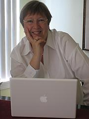 Författarporträtt. Jane Steen