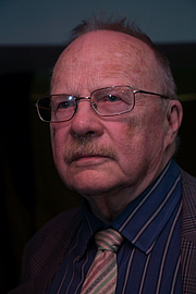 Author photo. Jan Myrdal foto: Jon Lundell