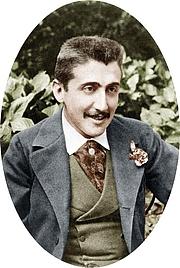 Foto del autor. Marcel Proust, vers 1891, à l'orée de sa vingtaine (Image colorisée)