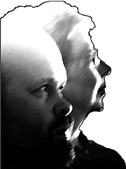 Foto de l'autor. Wim Coleman and Pat Perrin