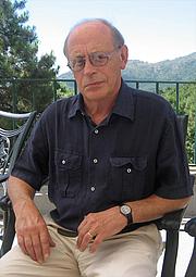 Foto do autor. Antonio Tabucchi en los Cursos de Verano de El Escorial, 2008.