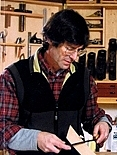 "Foto de l'autor. from the cover of ""Jim Tolpin's Woodworking: Wit & Wisdom"""
