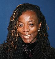 Author photo. Photo taken in November 2006 during a UK tour, by David Clarke, Ayebia Clarke Publishing Ltd.