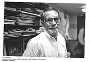 Författarporträtt. John Angus McPhee (photo courtesy of Princeton University)