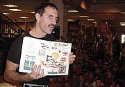 Författarporträtt. Photographed at BookPeople in Austin, Texas