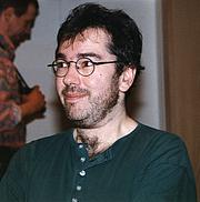 Författarporträtt. Ian McDonald (b. 1960) <br> Credit: Gerhard Heeke, 1997, Dortmund, Germany