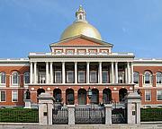 Författarporträtt. Massachusetts State House.  Photo by Paul Keleher / Flickr.