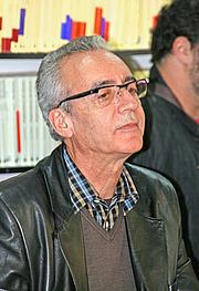 Kirjailijan kuva. Miguel A. Monjas