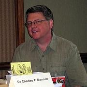 Forfatter foto. Charles E. Gannon at Lunacon 2012