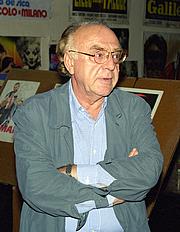 Kirjailijan kuva. Alberto Bevilacqua