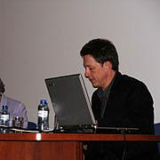 Fotografia de autor. Professor Fred Botting (Photo: Maryann McKay, US Embassy)
