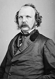 Foto de l'autor. Photo circa 1855-1865<br> Brady-Handy Photograph Collection, <br>LoC Prints and Photographs Division <br>(LC-DIG-cwpbh-01889)