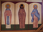 Foto do autor. Icon of St. John Maximovitch (center), St. Nicholas Orthodox Church, Norwich, CT. Photo by Basil Fritts / Flickr.