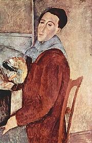 Foto de l'autor. Amedeo Modigliani.  1919