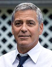 Kirjailijan kuva. George Clooney