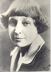 Photo de l'auteur(-trice). Marina Tsvetaïeva en 1925