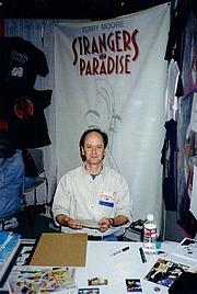 Författarporträtt. 1998 San Diego Comic-Con (c) T. Hedden