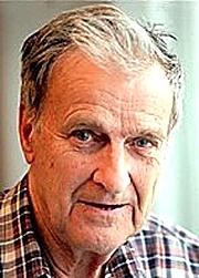 Kirjailijan kuva. John Spring