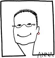 Kirjailijan kuva. ANNA (Anna Regula Hartmann-Allgöwer)